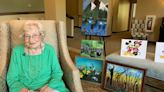 90-year-old assisted living resident in Mount Sterling dazzles with painting talent