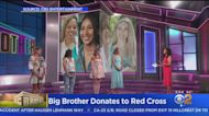 'Big Brother' House Guests Donate Emergency Kits To The Red Cross