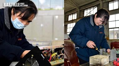 埋首改造零件維修鐵路30載 女電工成首位女性首席技師 | 美善人生