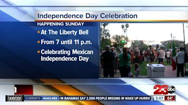 El Grito de Dolores Independence Day Celebration happening this weekend