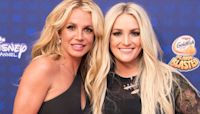 Britney Shares Epic Throwback Pic With Justin for Sister's Birthday