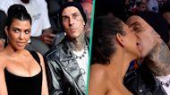 Kourtney Kardashian & Travis Barker Make Out On Camera At UFC Fight