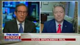 Chris Wallace Pokes Holes in Rand Paul's Impeachment Defense