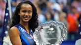 A teen tennis star made a touching tribute to New York after playing in the US Open final on September 11th