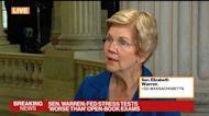 Senator Warren on Powell as Fed Chair, Stablecoins, Facebook