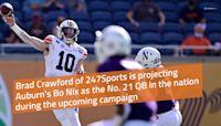 247Sports projects Bo Nix as top 25 quarterback during 2021 season