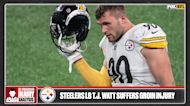 Recovery timeline for T.J. Watt after suffering groin injury vs. Raiders