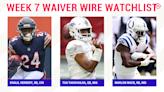 Fantasy Football Waiver Wire Watchlist for Week 7: Streaming targets, free agent sleepers include Khalil Herbert, Tua Tagovailoa, Marlon Mack
