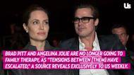 Brad Pitt, Angelina Jolie Are 'No Longer' Undergoing Family Therapy