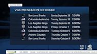 Vegas Golden Knights release 2021-22 preseason schedule