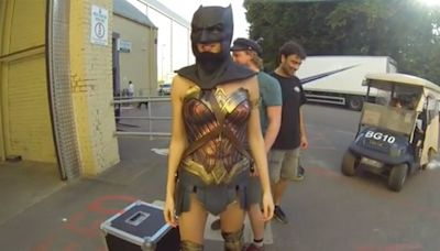 See Gal Gadot Try on Ben Affleck's Batman Mask for Batman Day: 'My Head Is Not That Big!'