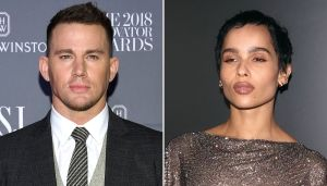 Holding Hands! Channing Tatum and Zoe Kravitz Get Cozy in NYC