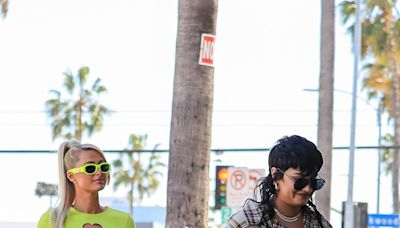 Demi Lovato Wore $65 Sunglasses to Go Shopping With Paris Hilton — See Photos