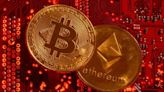 Crypto-linked stocks plunge in Hong Kong, bitcoin steadies