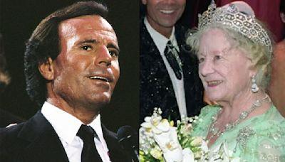 El día que Julio Iglesias hizo llorar a la madre de Isabel II