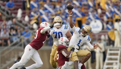 Thompson-Robinson leads No. 24 UCLA past Stanford 35-24