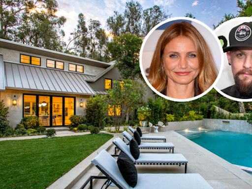 Cameron Diaz, Benji Madden Buy $14.7 Million Beverly Hills Compound