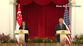 美國信心危機》賀錦麗訪新加坡安撫盟邦 李顯龍:重點是美如何在亞太重新部署
