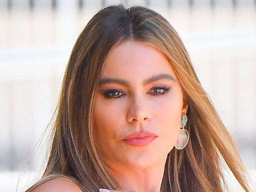 Sofia Vergara Goes 2000s-Chic in a Lace Camisole, Zebra Skirt & Towering 6-Inch Heels