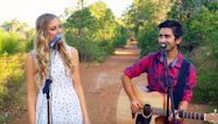 Couple sings bewitching cover of John Denver classic