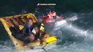 Italian coast guard rescues over 100 migrants