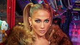 Jennifer Lopez Is Ready to Play This Fall in a Fur Coat, Skinny Jeans & New DSW Thigh-High Boots