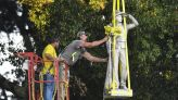 Ole Miss moves Confederate statue from prominent campus spot