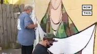 Artists Paint Mural Honoring Vanessa Guillen