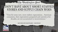 Joe Concha blasts WaPo op-ed and Pete Buttigieg over supply chain crisis response