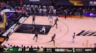 Khris Middleton with a 2-pointer vs the Phoenix Suns