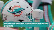Miami Dolphins 2021 NFL schedule
