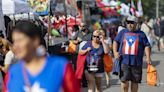 People attend the 2021 Puerto Rican Festival