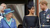 Queen Elizabeth keeps rare photo of Meghan Markle, Prince Harry in Buckingham Palace