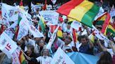 Plataformas exigen renuncia de Cox y libertad para presos políticos | El Diario - Bolivia