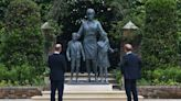 Princess Diana statue unveiled at Kensington Palace by Princes William and Harry