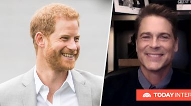 Rob Lowe addresses Prince Harry ponytail rumor he started: 'I'm gonna be the bad guy'