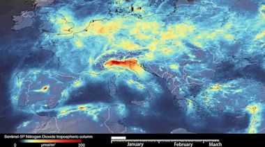 Satellite Data Shows Decrease in Air Pollution Over Italy as Country on Coronavirus Lockdown