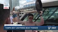 Blake Coleman lifts Stanley Cup LIVE during Bolts victory parade