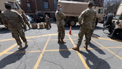 The National Guard is driving kids to school in Massachusetts amid a bus driver shortage