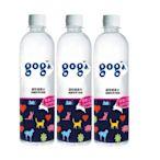 Gogi寵物健康水(包裝飲用水)健康口氣由內而外 600ml-24罐組