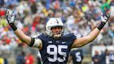 SEE IT: Former Penn State football player Carl Nassib makes game-winning strip sack on Monday Night Football