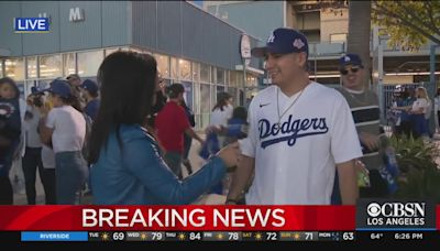 Dodgers' fans react to NLCS Game 3 Win