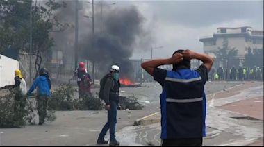 Clashes erupt in Ecuador amid anti-govt protests