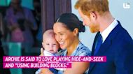 Meghan Markle and Prince Harry's Son Archie Is 'Just About Walking'