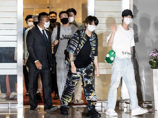 BTS成總統特使啟程訪美!亮出「紅色護照」受矚目 世界彈要發光了