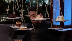 Kumail Nanjiani Eats Pizza for First Time Since Getting Buff (Video)