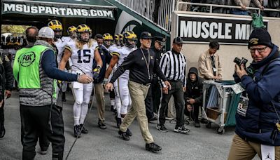 What they said: Mel Tucker says MSU needs to build a wall to stop the Michigan run game