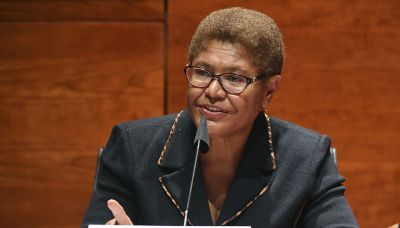 Rep. Karen Bass announces she is running for mayor of Los Angeles