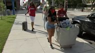 Many Temple University students moving out
