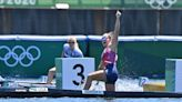 American teenager Nevin Harrison wins first-ever Olympic women's canoe 200m